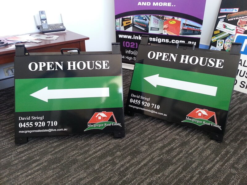 Real Estate Signboards