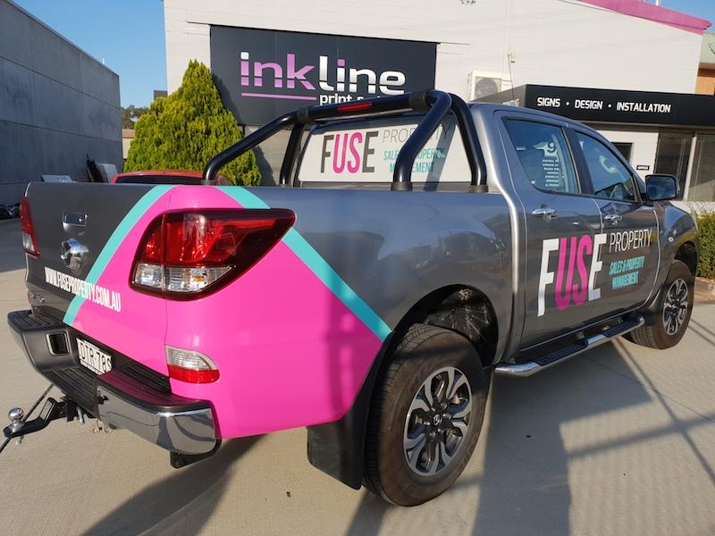 Vehicle Signage Canberra